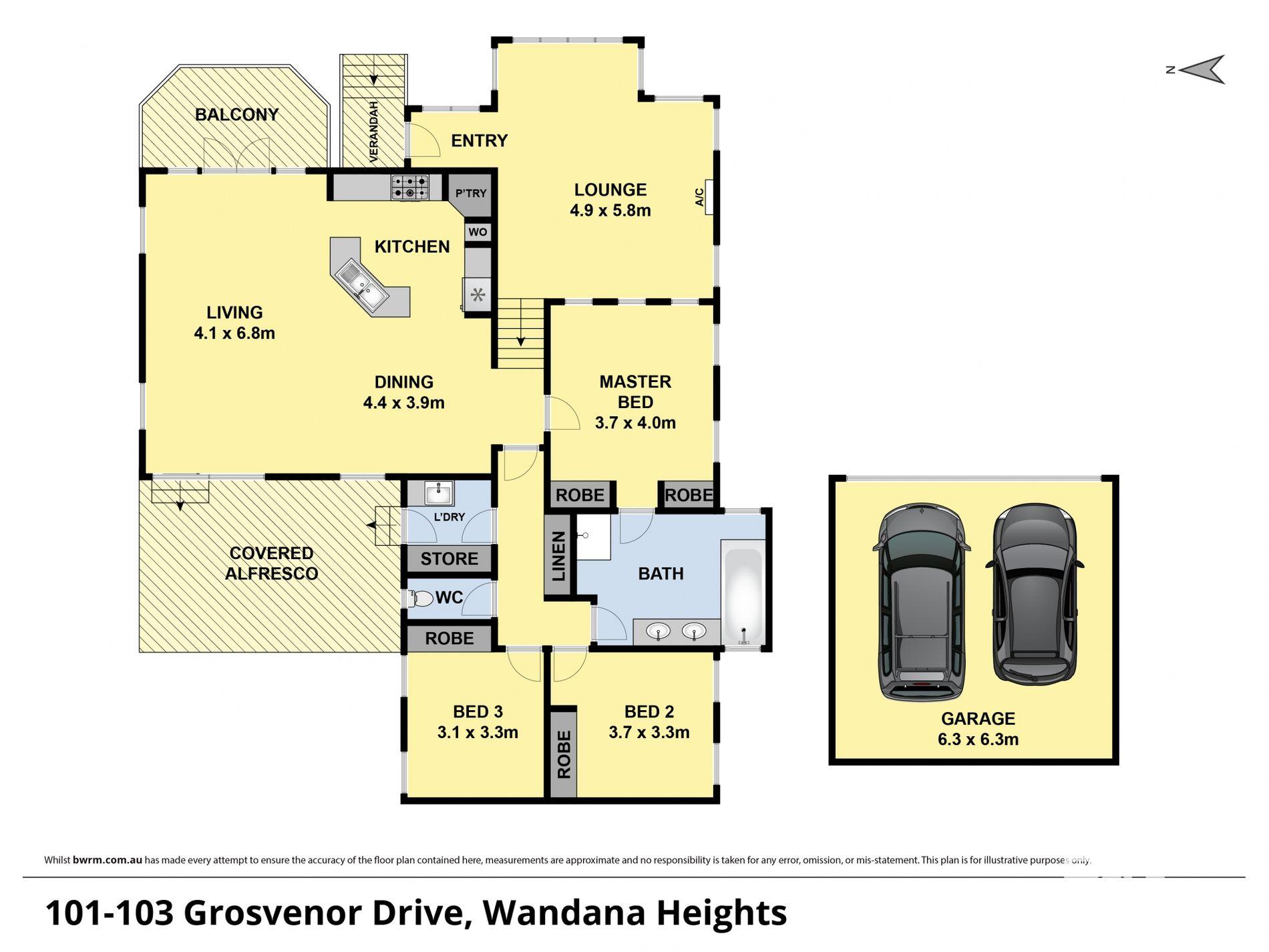 101-103 GROSVENOR DRIVE, Wandana Heights