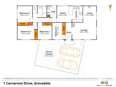 1 CARNARVON DRIVE, Grovedale