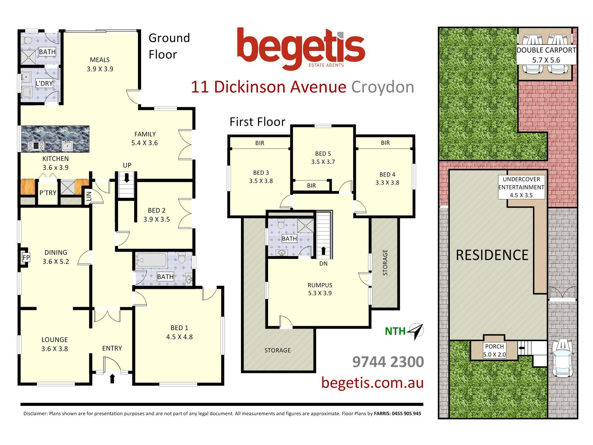 11 Dickinson Avenue, Croydon