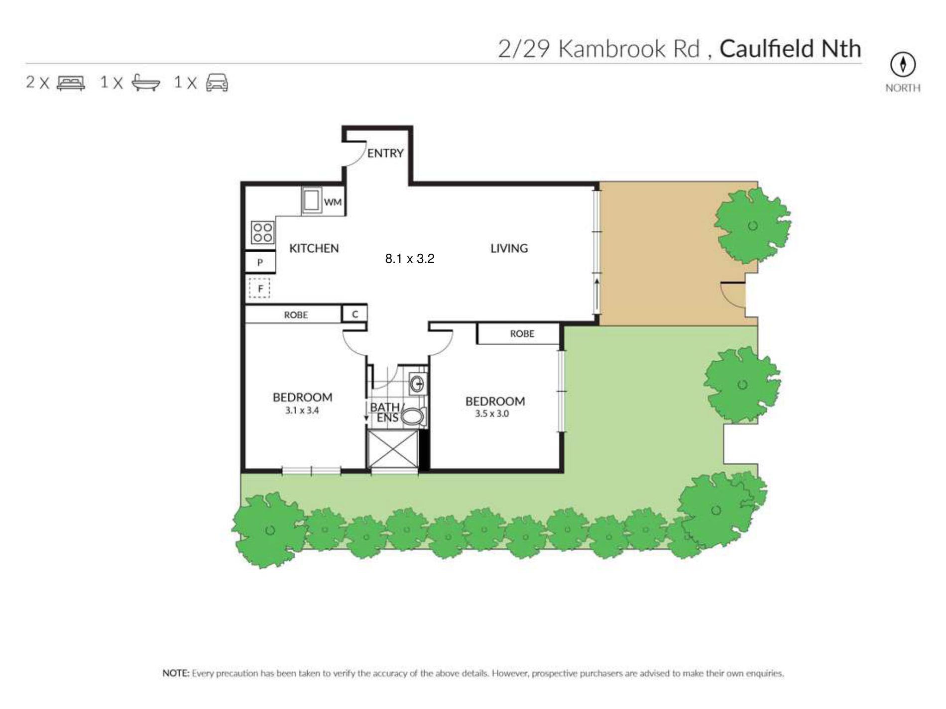 2 / 29 Kambrook Road, Caulfield North