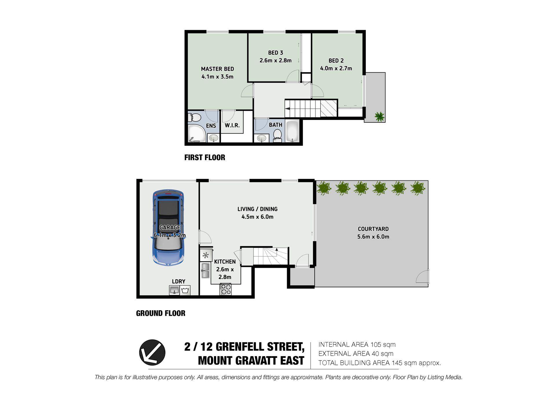 2 / 12 Grenfell Street, Mount Gravatt East