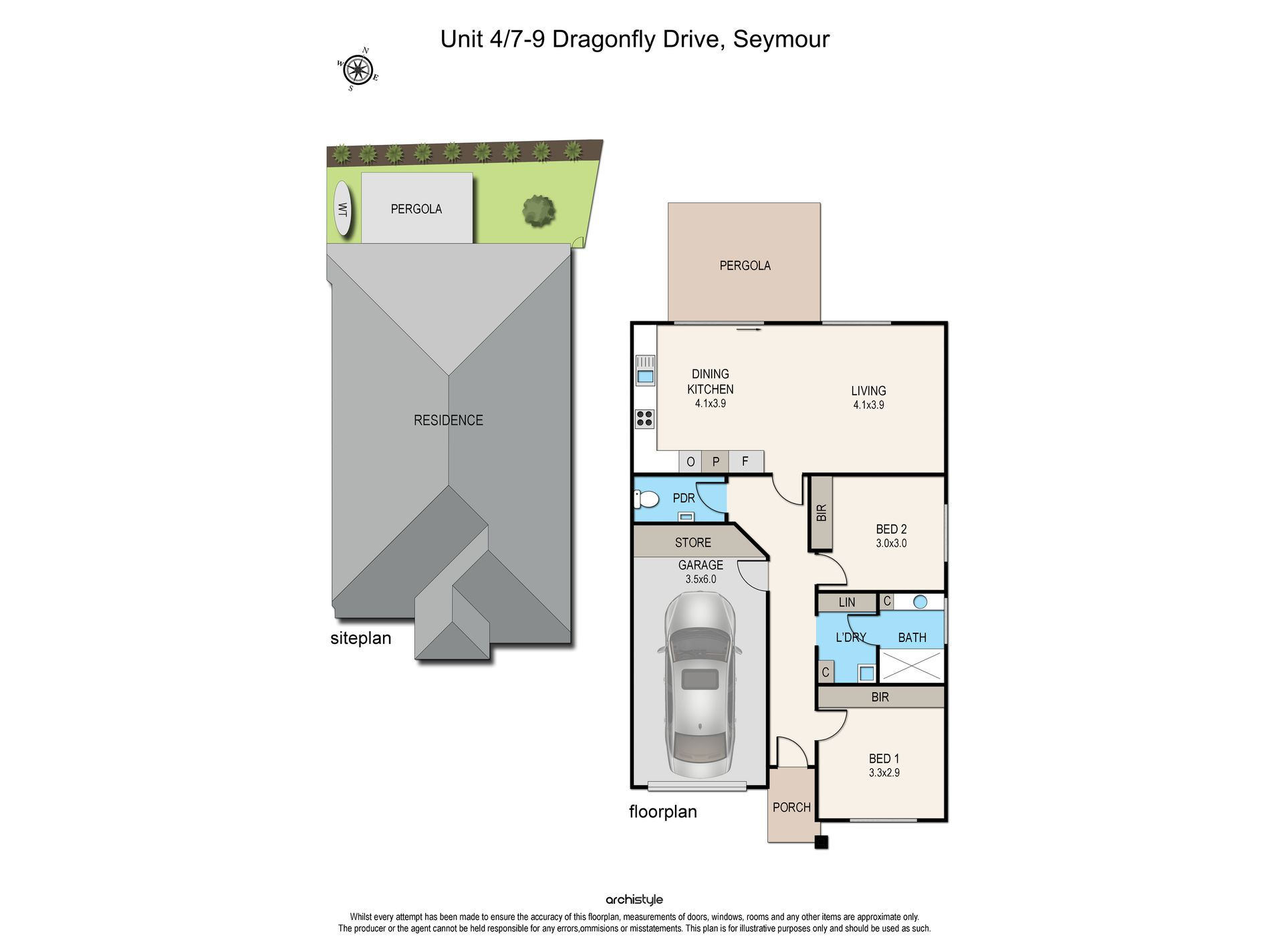 4 / 7-9 Dragonfly Drive, Seymour