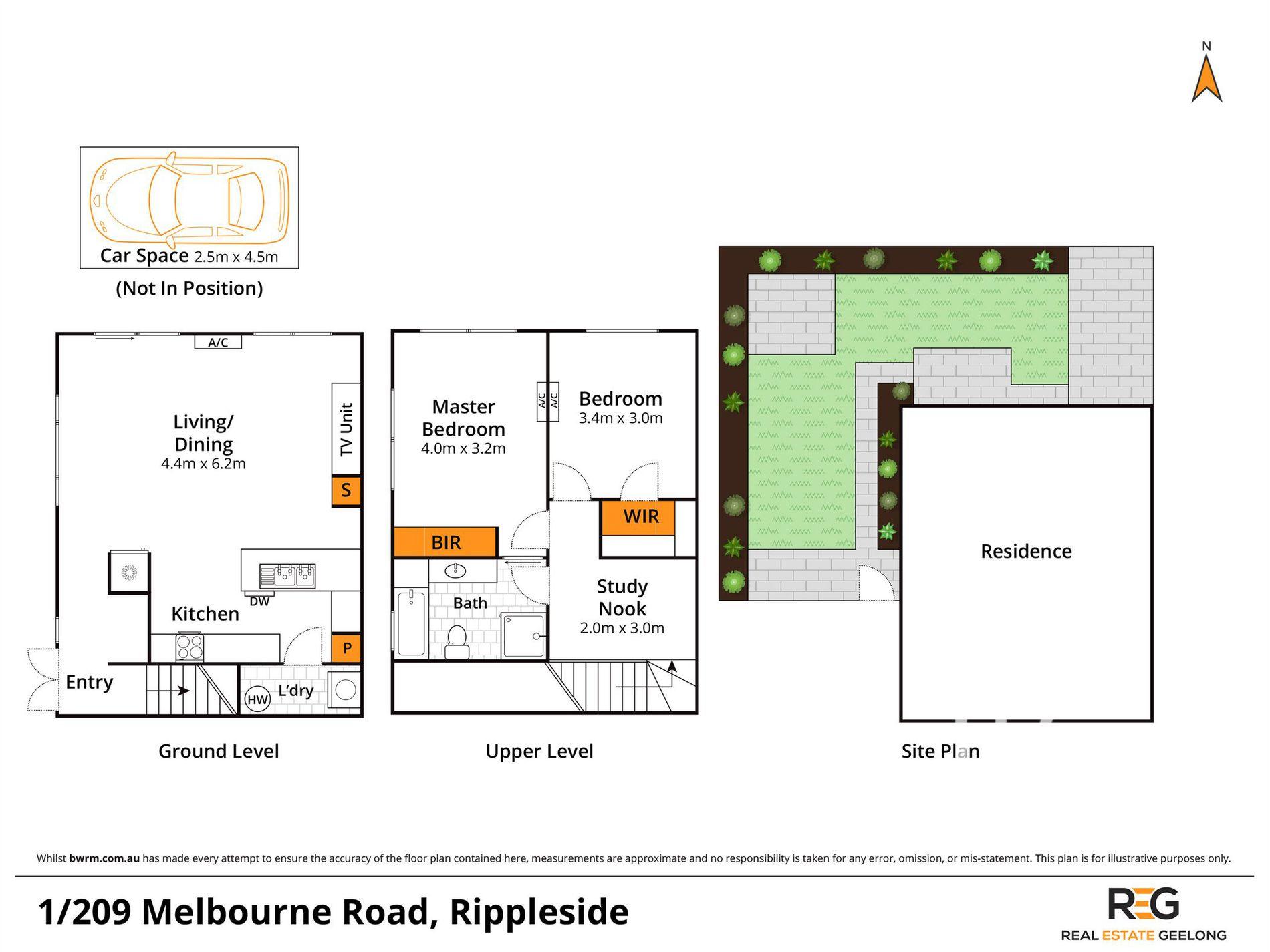 1 / 209 MELBOURNE ROAD, Rippleside