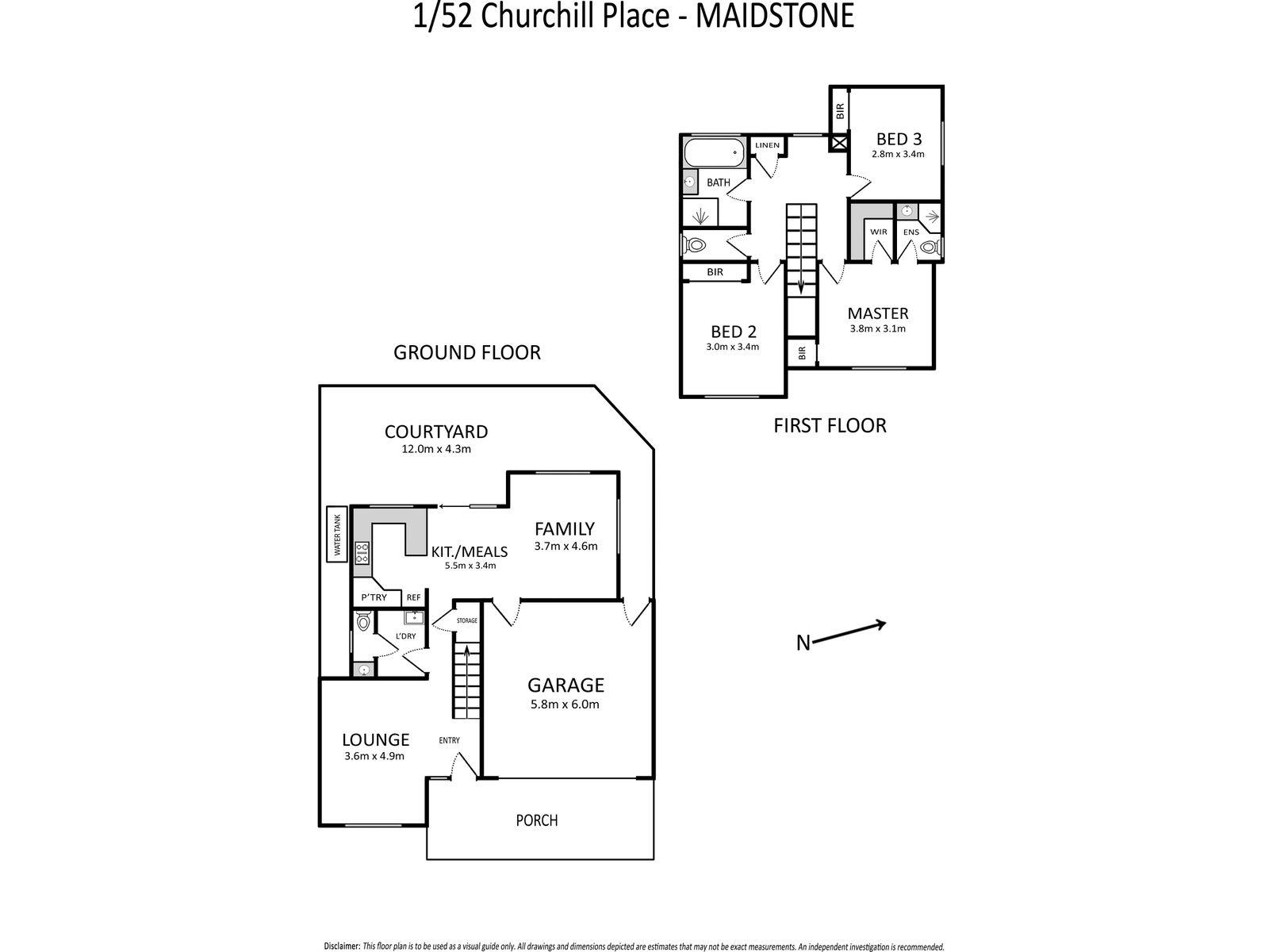 1 / 52 Churchill Place, Maidstone