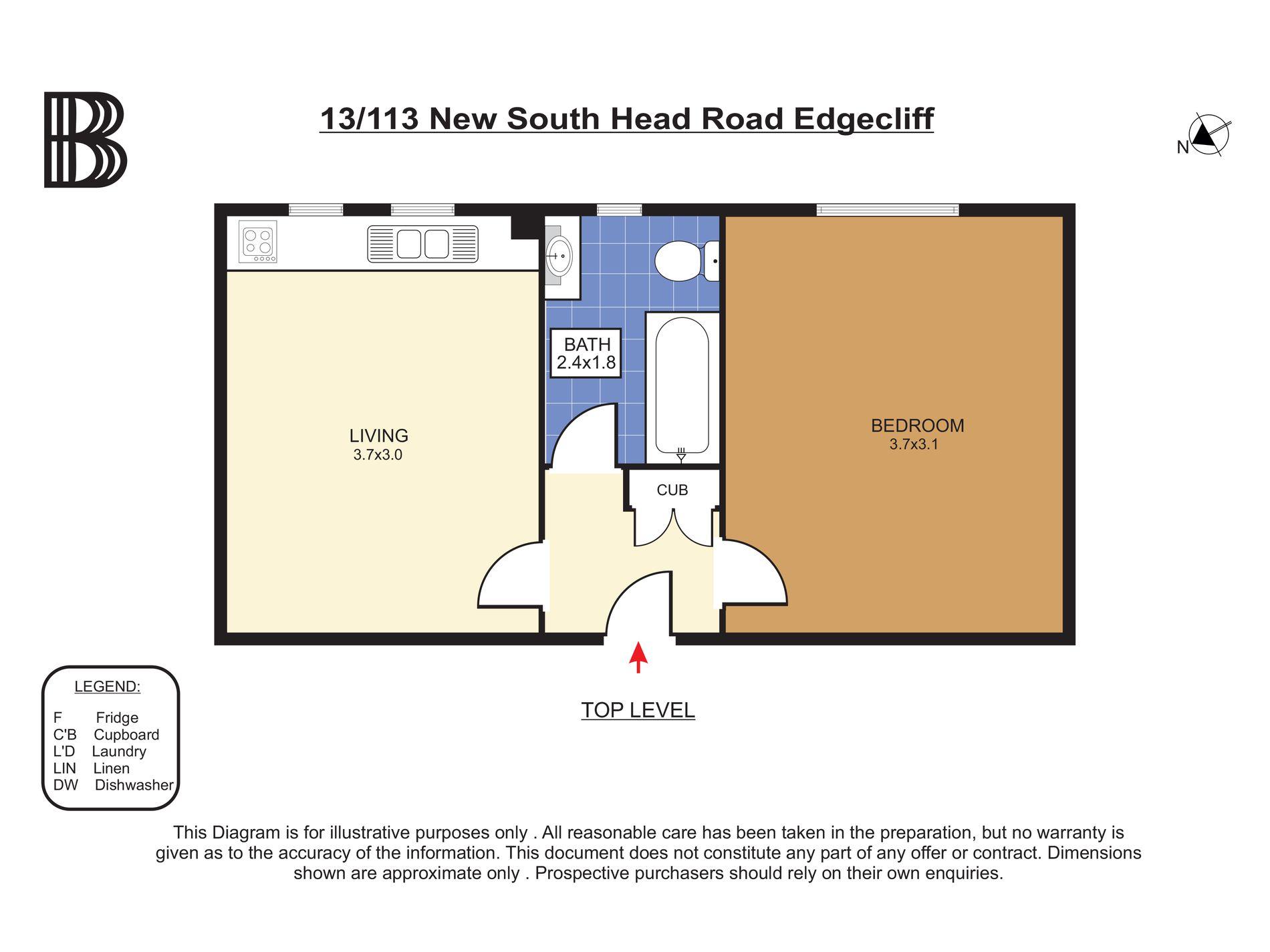 13 / 113 New South Head Road, Edgecliff