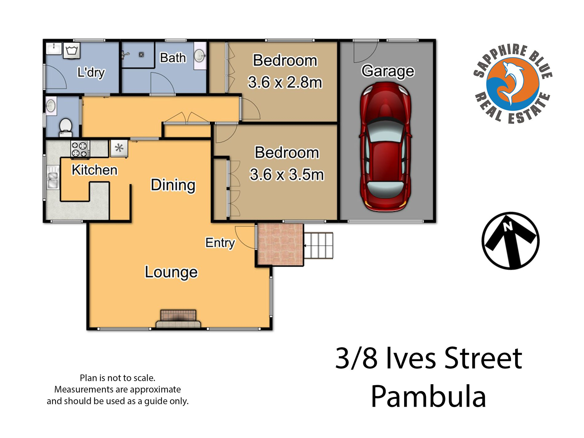 3 / 8 IVES STREET, Pambula