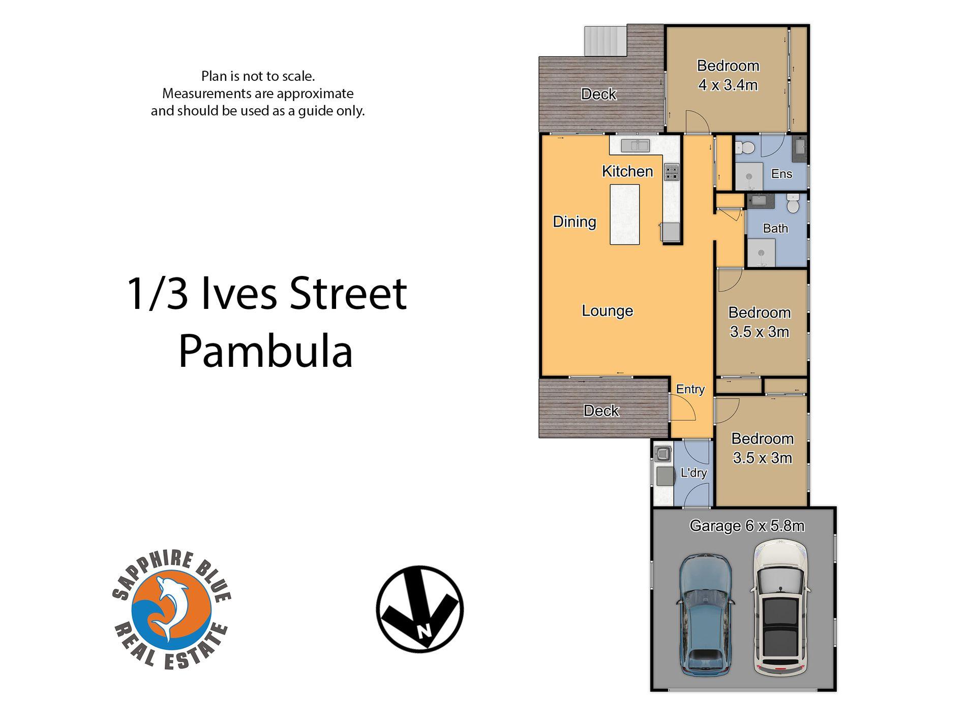 1 / 3 Ives Street, Pambula