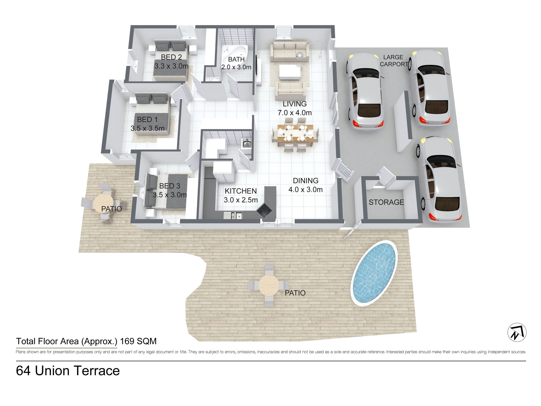 64 Union Terrace, Anula