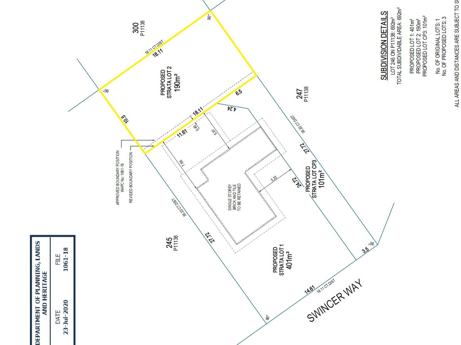 Lot 2, 27 Swincer Way, Koondoola