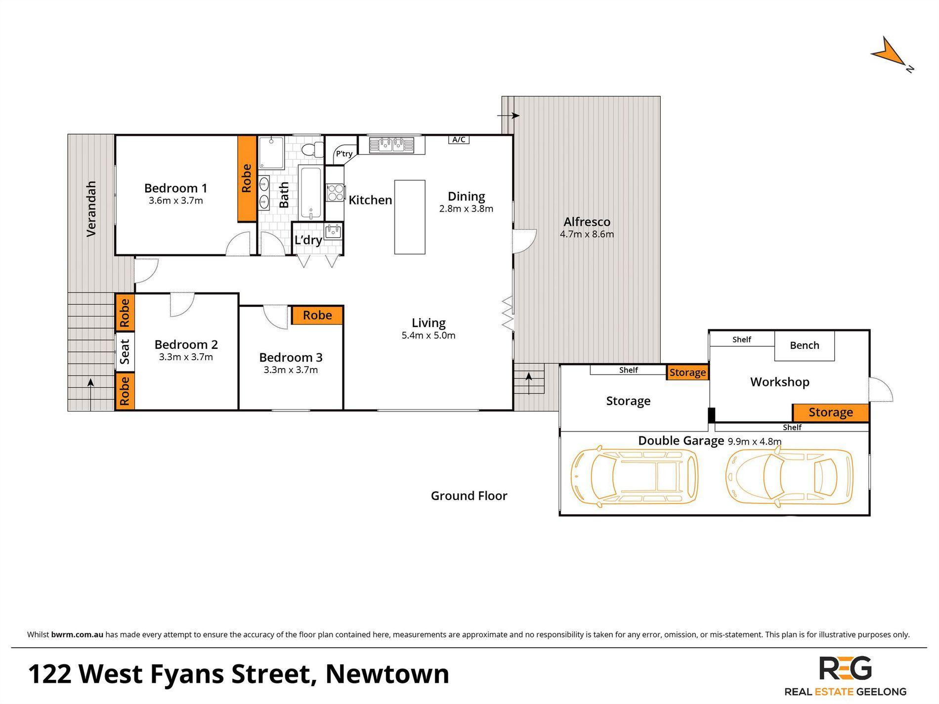 122 WEST FYANS STREET, Newtown