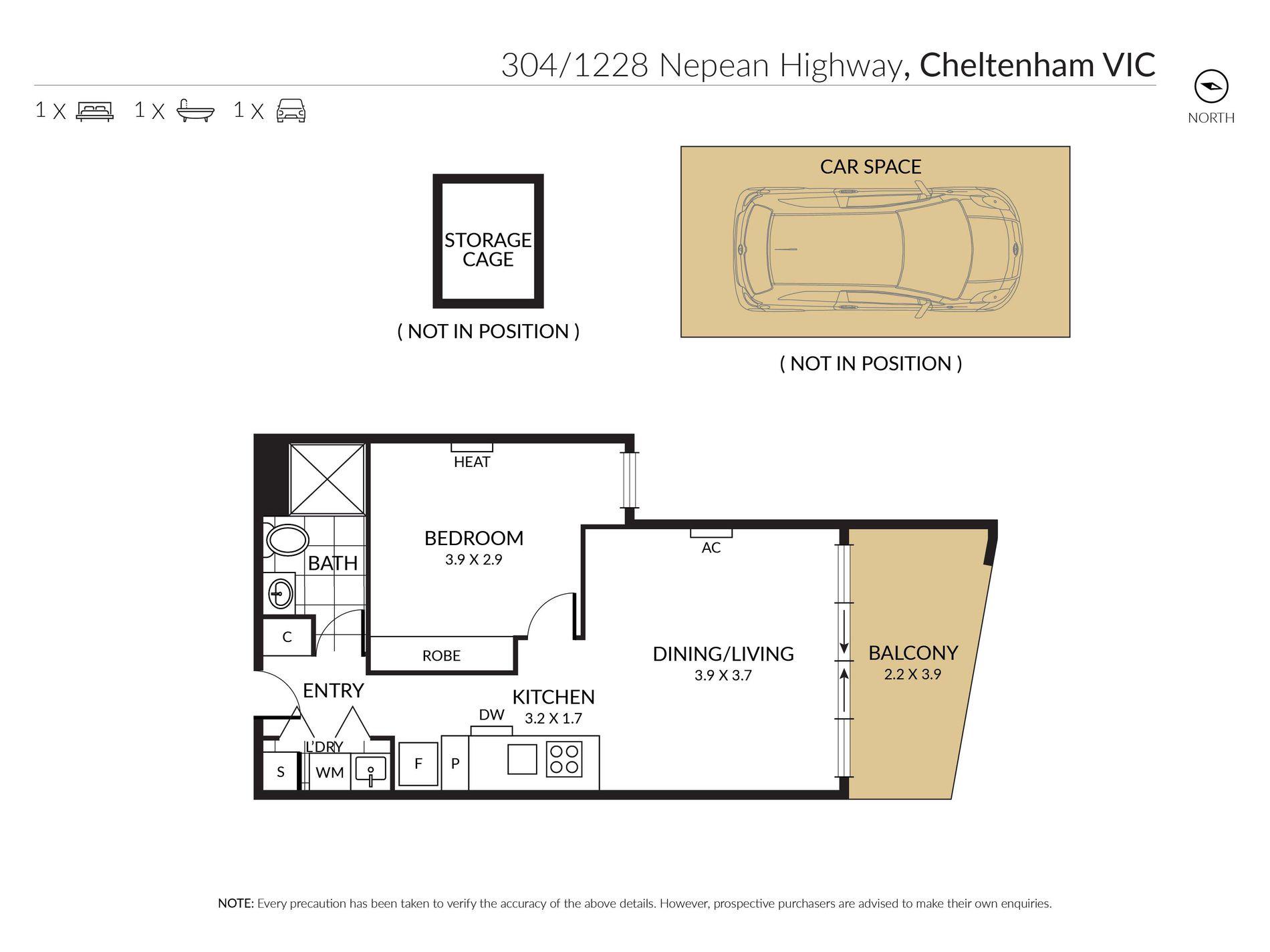 304 / 1228 Nepean Highway, Cheltenham