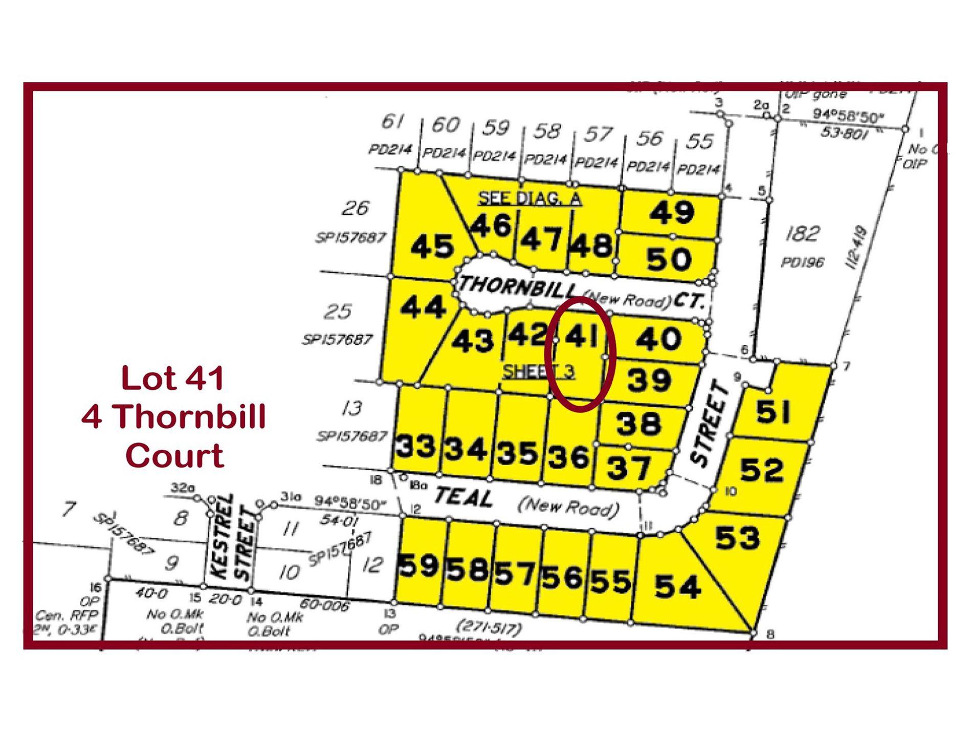 Lot 41, 4 Thornbill Court, Longreach
