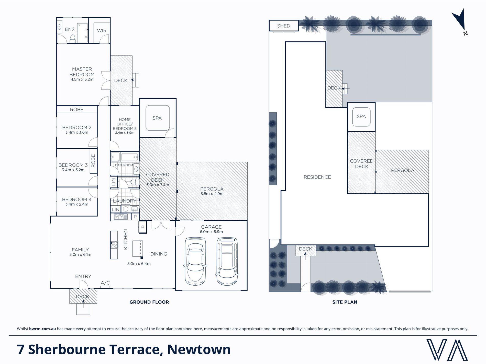 7 Sherbourne Terrace, Newtown