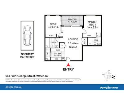648 / 351 George Street, Waterloo