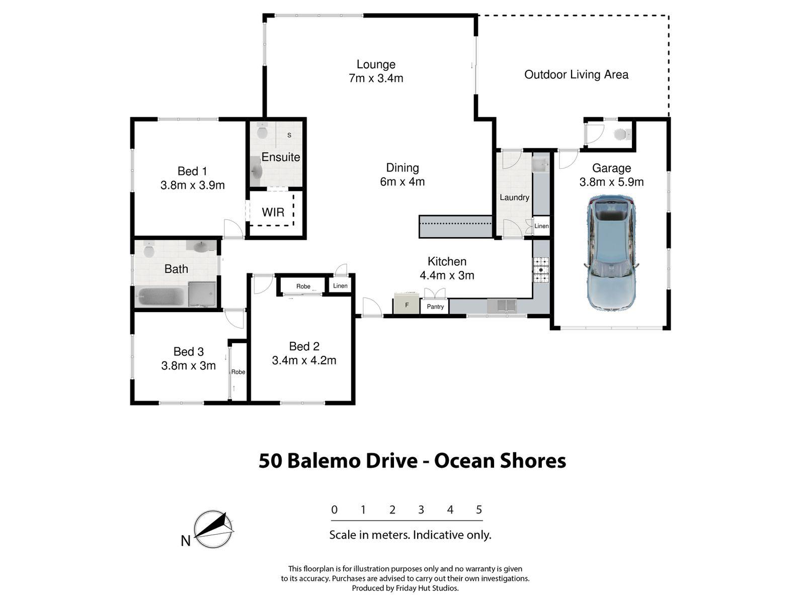 1 / 50 Balemo Drive, Ocean Shores