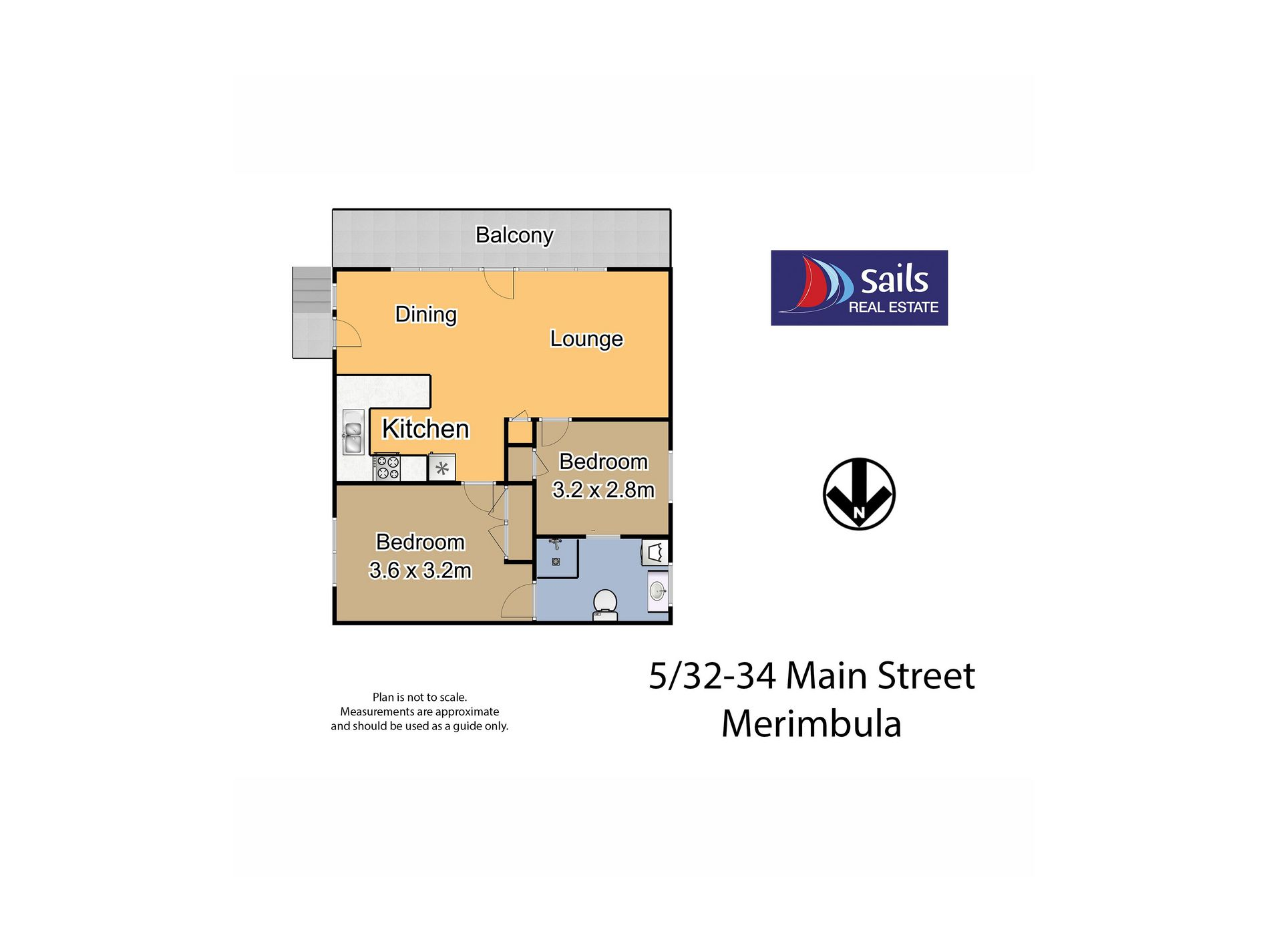 5 / 32 Main Street 'Palm Grove', Merimbula