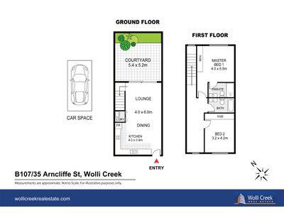 B107 / 35 Arncliffe St, Wolli Creek