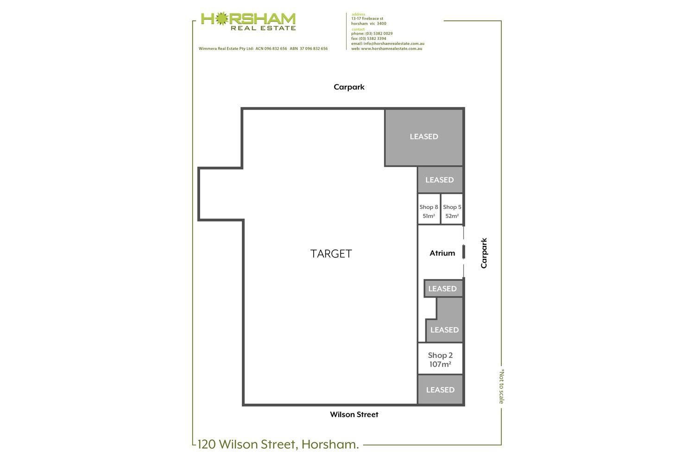 Shop 5 & 8 / 120 Wilson Street, Horsham