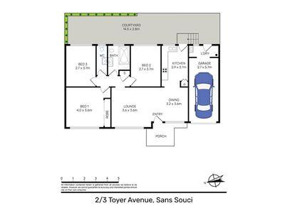 2 / 3 Toyer Avenue, Sans Souci