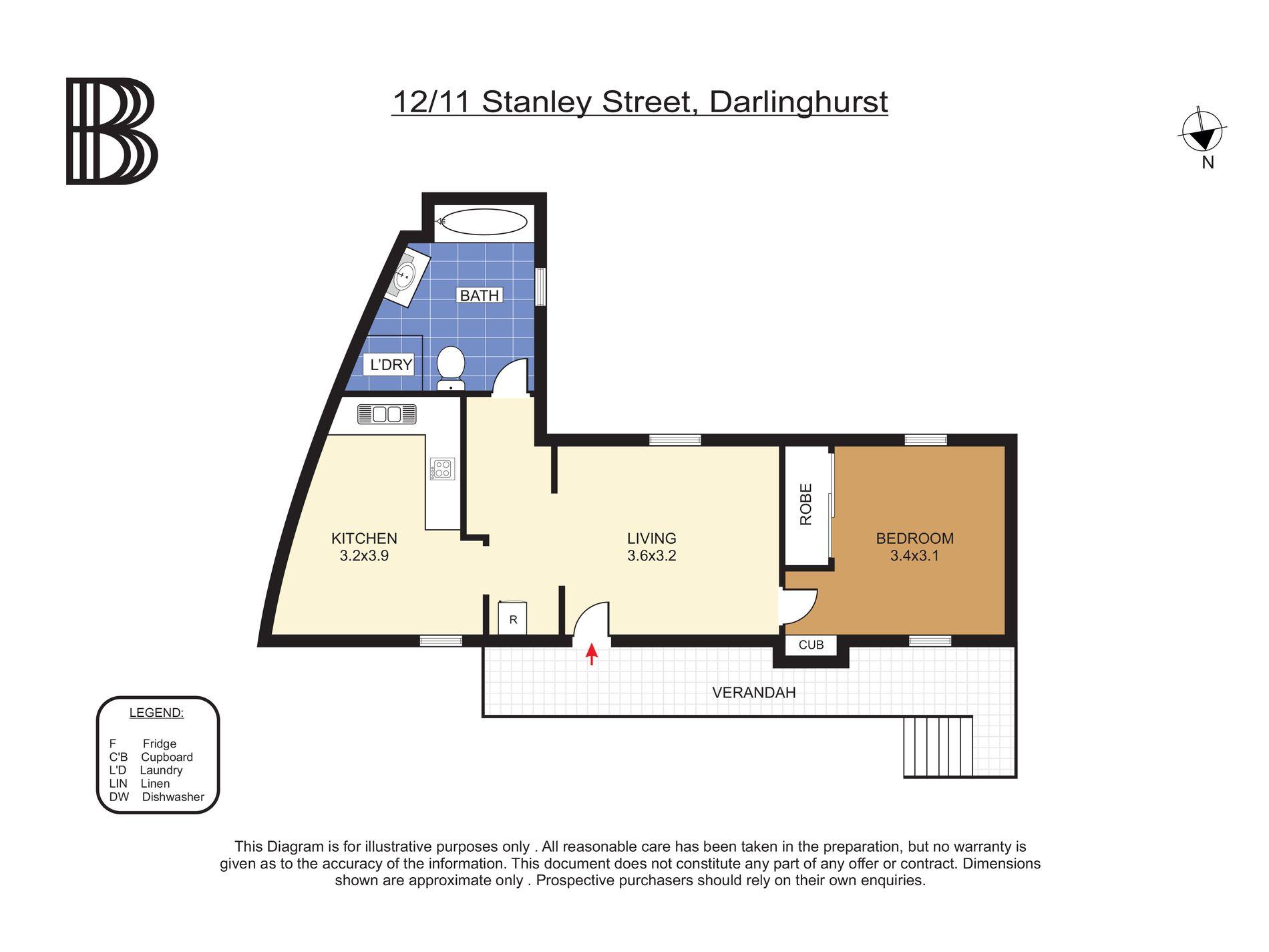 12 / 11 Stanley Street, Darlinghurst