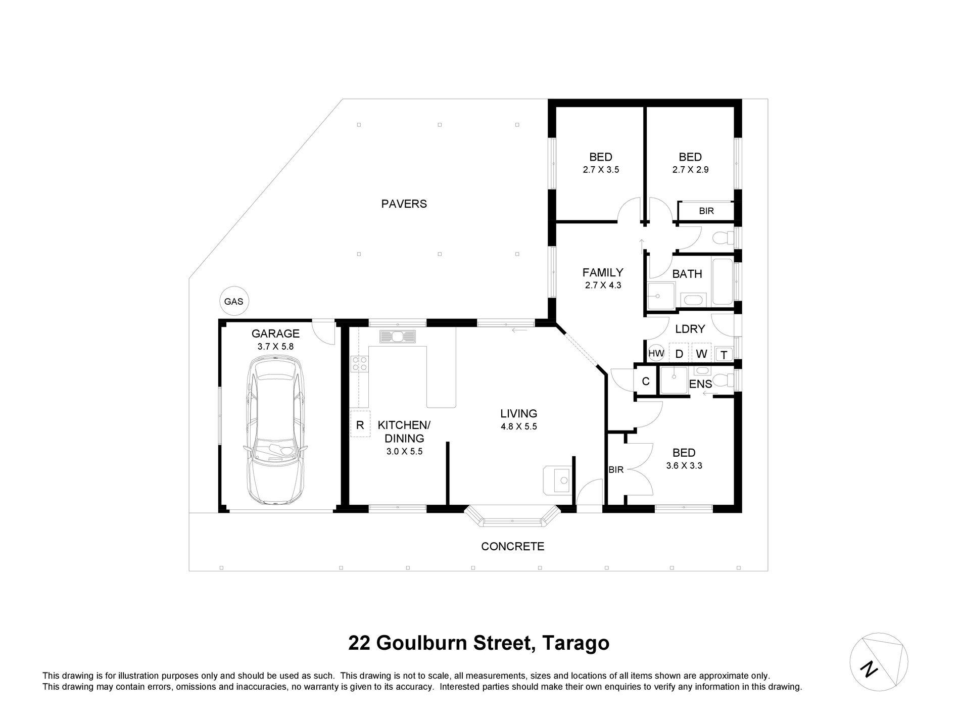 22 Goulburn Street, Tarago