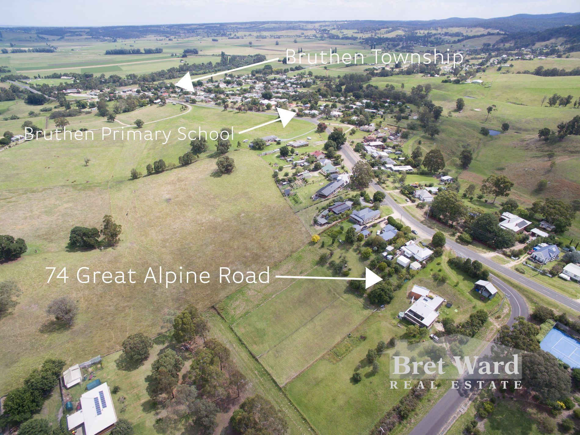 74 Great Alpine Road, Bruthen