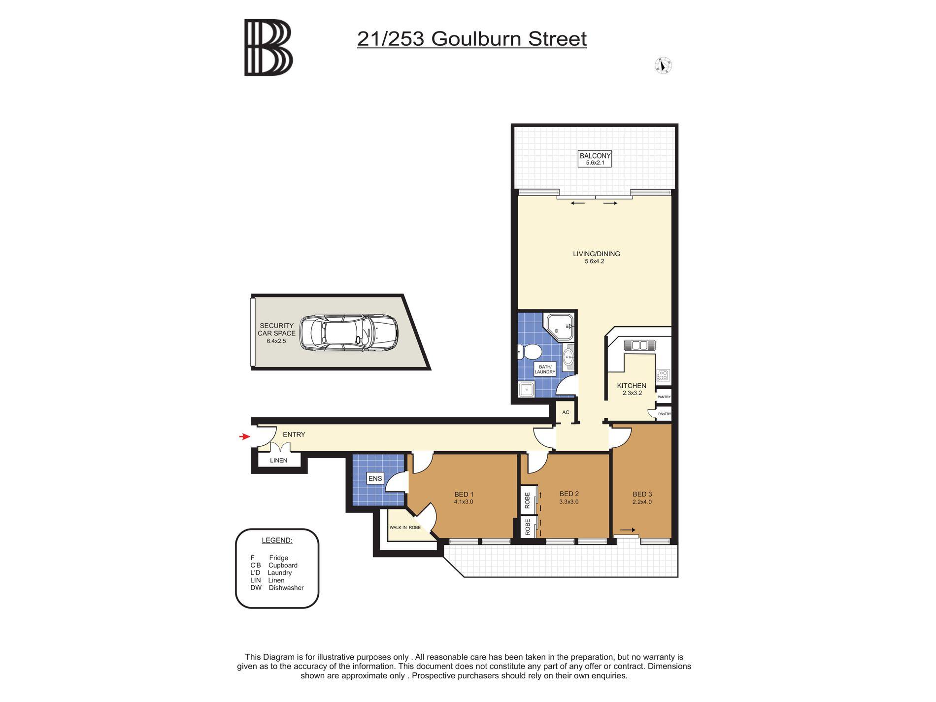 21 / 253 Goulburn Street, Surry Hills