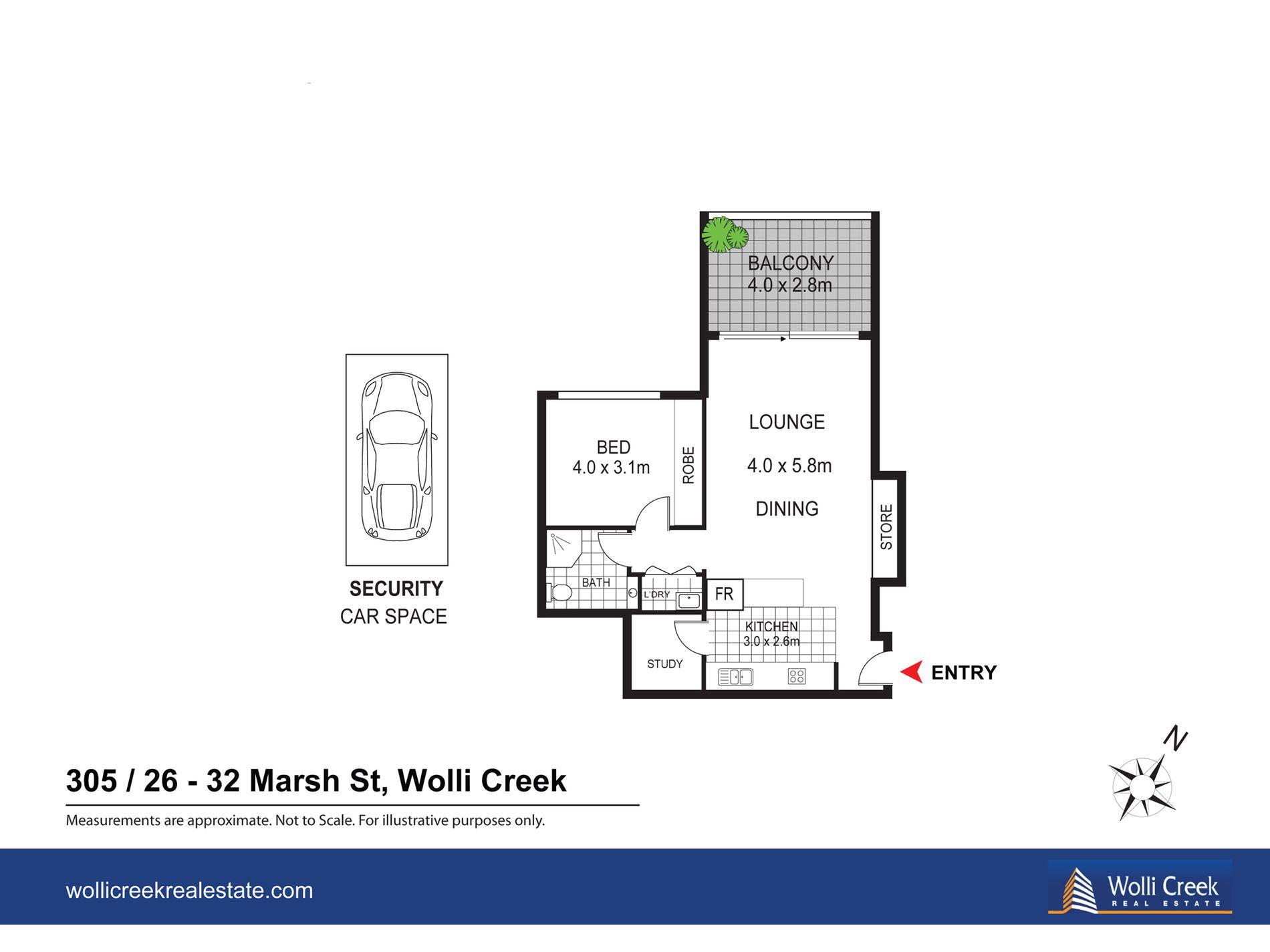 305 / 26-32 Marsh Street, Wolli Creek