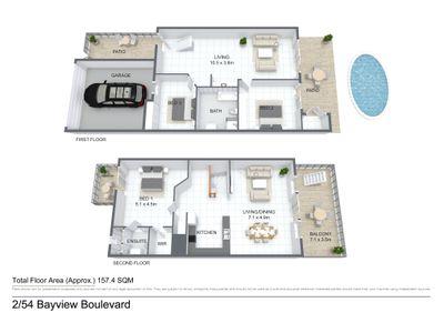 2 / 54 Bayview Boulevard, Bayview