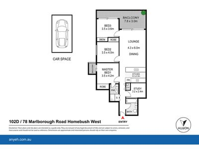 D102 / 78 Marlborough Road, Homebush West