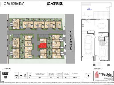 Unit 14 / 27 Boundary RD, Tallawong, Schofields