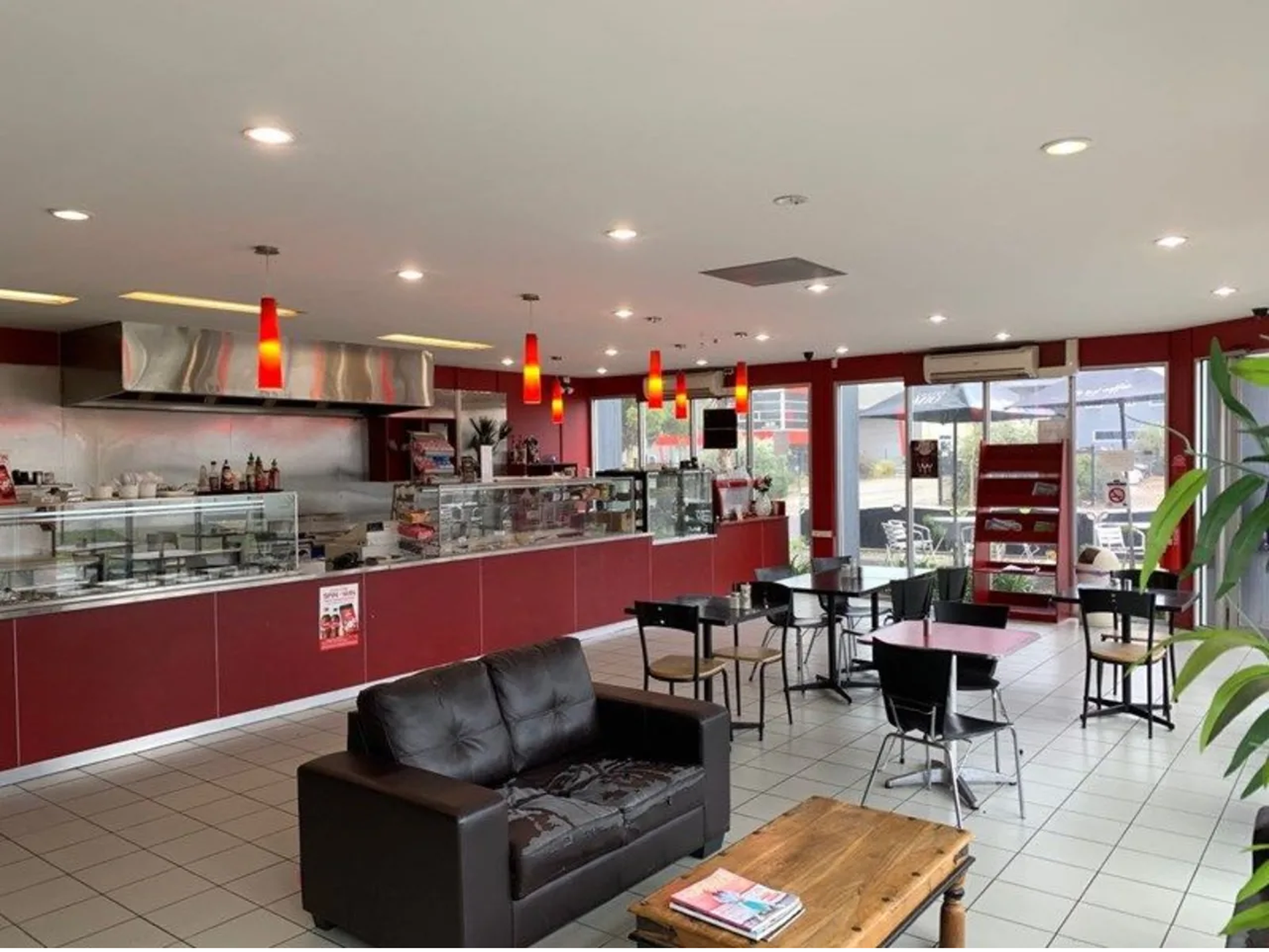 5 Day Industrial Cafe Business For Sale in the West