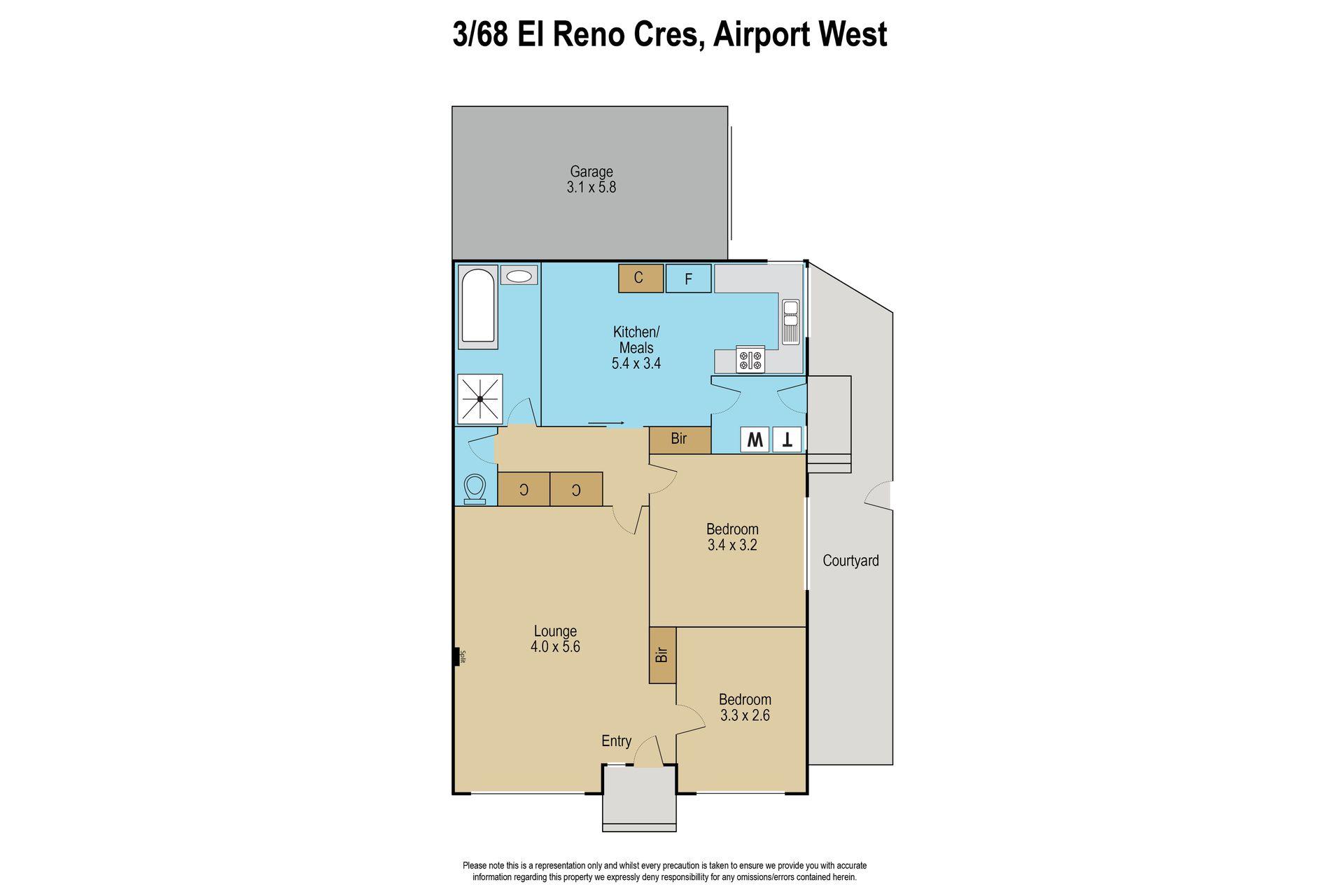 3 / 68 El Reno Crescent, Airport West