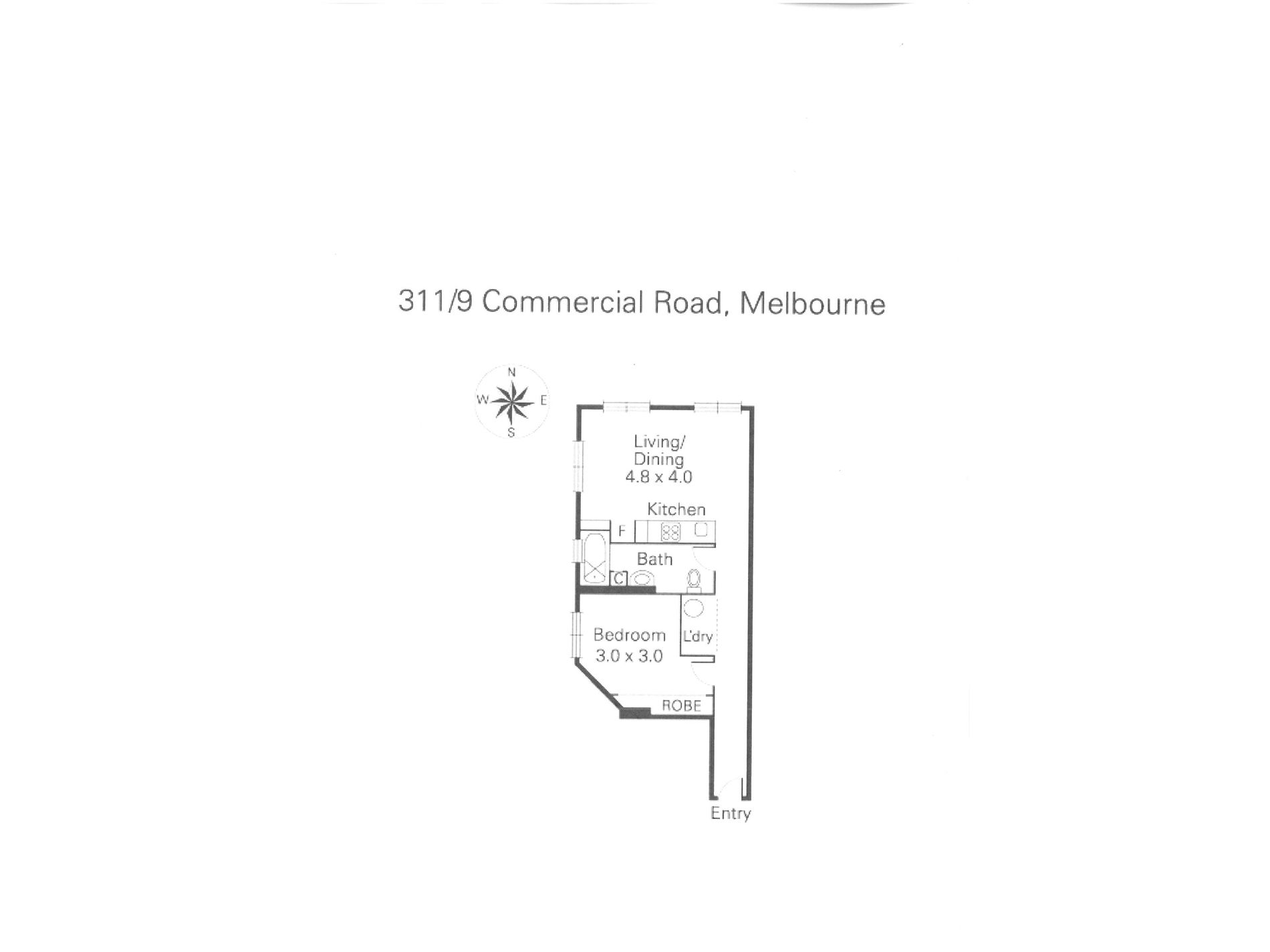 311 / 9 Commercial Road, Melbourne