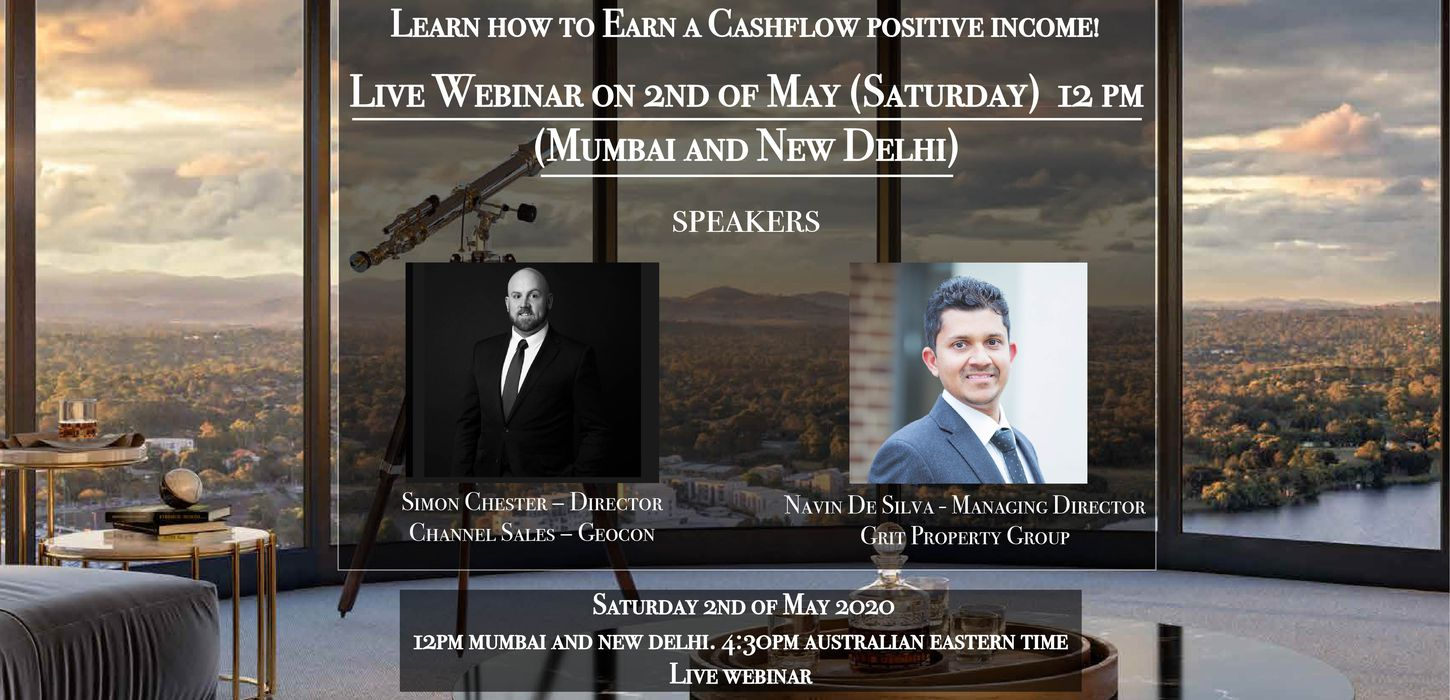 Live Webinar - Recession Proof Property Investments in Australia