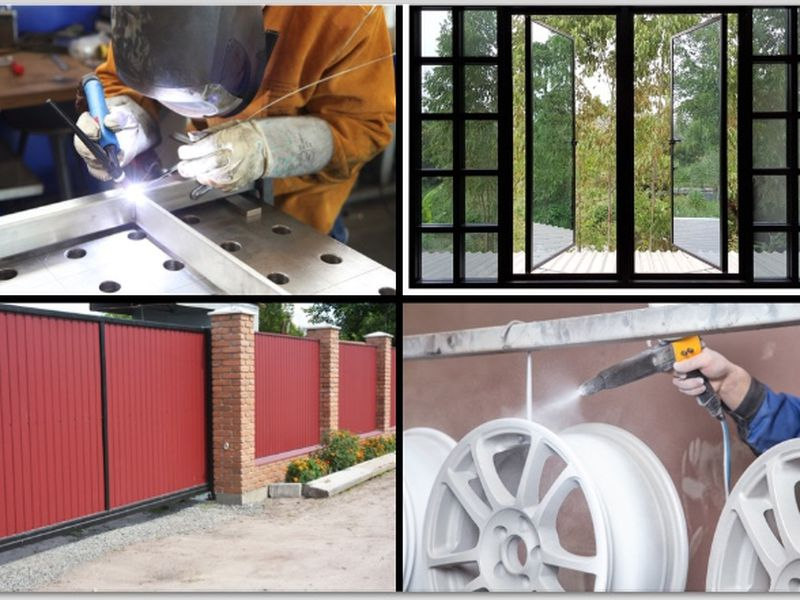 Fabrication and Powdercoating Business For Sale