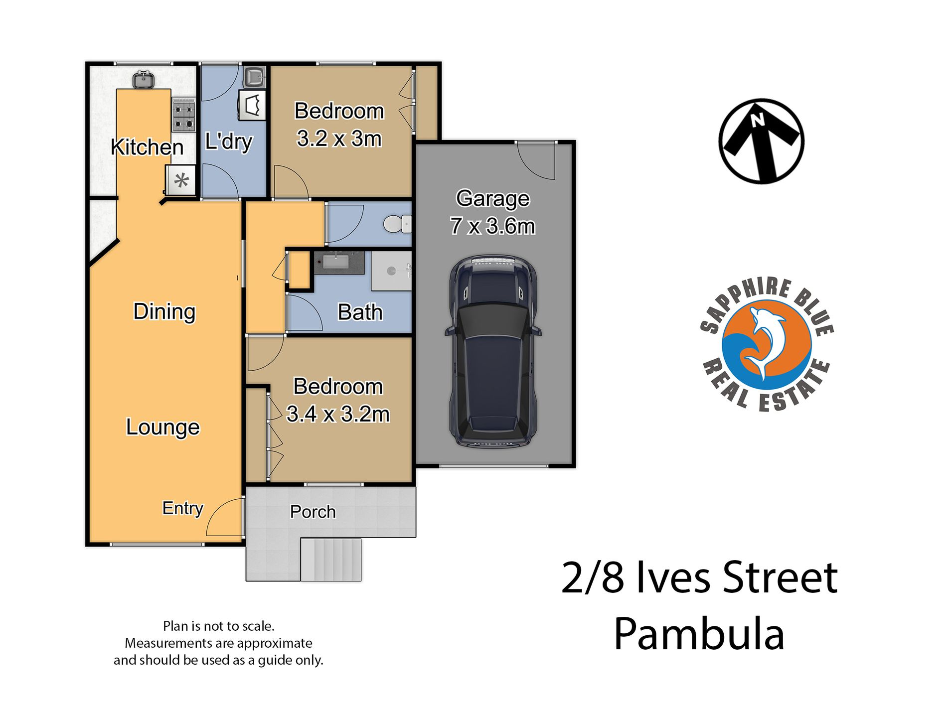 2 / 8 Ives Street, Pambula